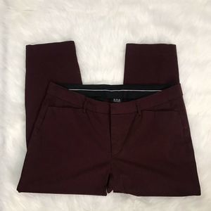 A.N.A WOMEN'S PLUS SIZE 16 RED TROUSERS